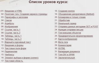 html для чайников